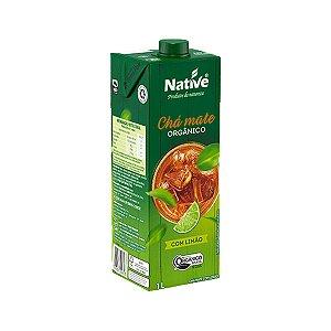 Chá Mate Sabor Limão Orgânico 1LT