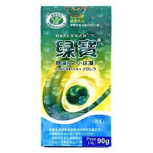 Chlorella (clorela) Greem Gem 90g 360 Comprimidos Orgânica