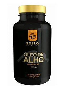 Óleo de Alho 500mg - 120 Cápsulas