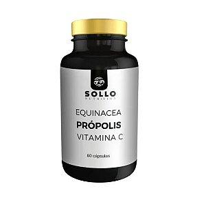Equinacea, Própolis e Vitamina C - 60 capsulas