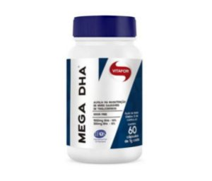 MEGA DHA 60CAPS 1000MG