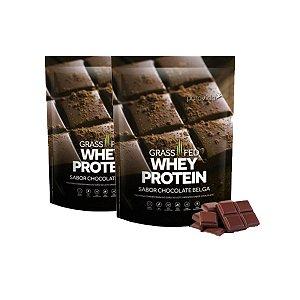 Kit 2x Whey Protein Puravida 450g, Chocolate Belga, Puravida