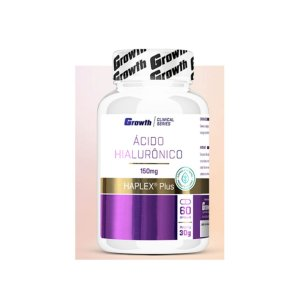 ÁCIDO HIALURÔNICO 60 CAPS VEGANAS HAPLEX - GROWTH SUPPLEMENT