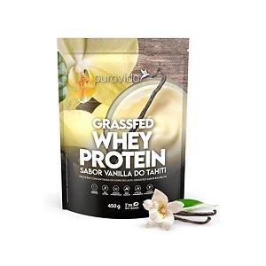 Whey Protein Puravida 450g, Vanilla do Tahiti