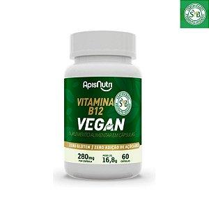 VITAMINA B12 VEGAN 280MG 60 CPS APISNUTRI .
