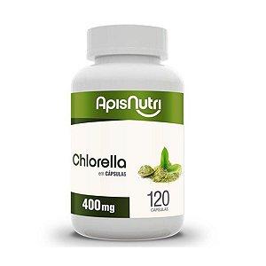 CHLORELLA 400MG 120 CPS APISNUTRI .