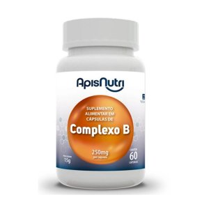 COMPLEXO B OIL 250MG 60 CPS APISNUTRI .