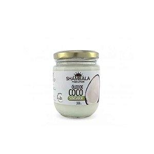 Óleo de coco sem sabor 200ml