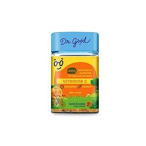 Vitamina C Kids Dr Good Suplemento gomas sabor Laranja c/ 60