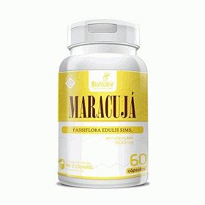 Maracujá - Passiflora - 60 Cápsulas - Bionutrir