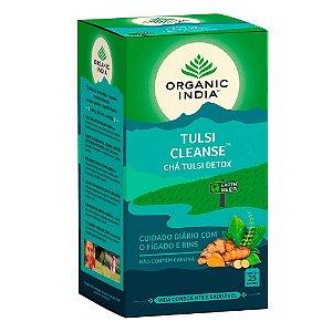 Chá Tulsi Detox (Cleanse) Organic India 25 Sanches