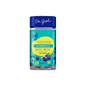 Vitamina D Dr Good Suplemento Gomas Blueberry Diet C/60