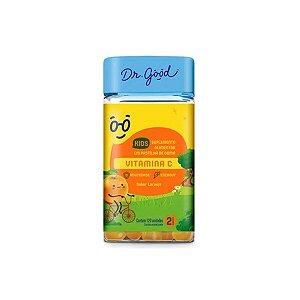 Vitamina C Kids Dr Good Suplemento gomas sabor Laranja c/ 120