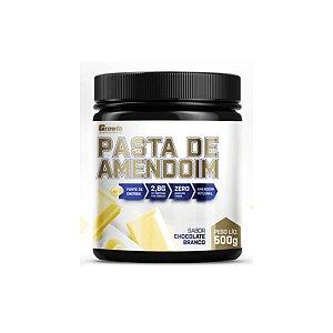 PASTA DE AMENDOIM SABOR CHOCOLATE BRANCO 500GR - GROWTH