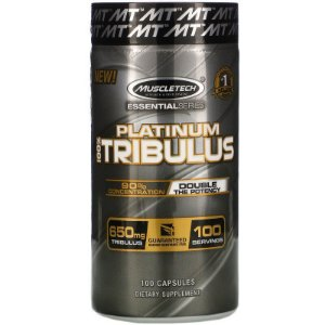 Tribulus 650 mg Muscletech Platinum 90% saponinas 100 Caps