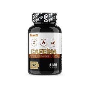 Cafeína 210MG, 120 caps - Growth Supplements, Termogênico