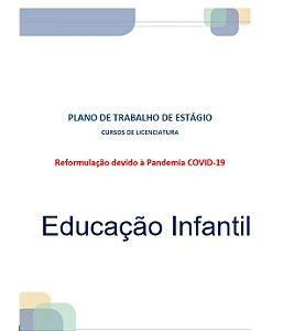 Plano de Trabalho de Estágio - Educação Infantil