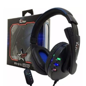 Headset Gamer Feir FR-215 com LED RGB
