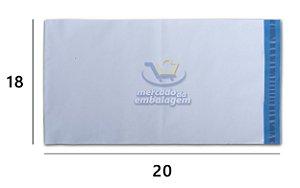 Envelope Plástico de Segurança 18 X 20 cm