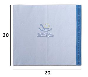 Envelope Plástico de Segurança 30 X 20 cm