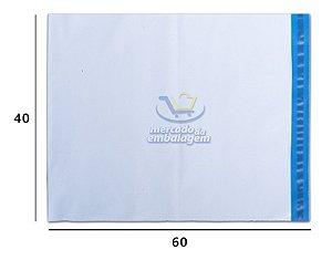 Envelope Plástico de Segurança 40 X 60 cm