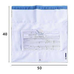 Envelope Plástico de Segurança com Bolsa 40 X 50 cm