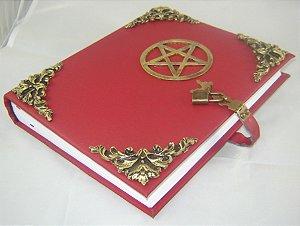 Livro das Sombras com Pentagrama cod.216