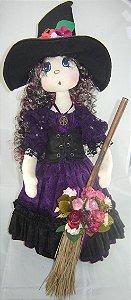 Boneca de pano Bruxa Morgana cod.231