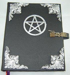 Livro das Sombras com Pentagrama cod.280