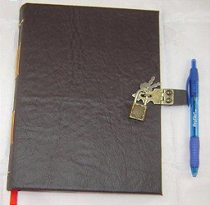 Diario de couro  cod.318