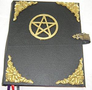 Livro das Sombras com Pentagrama cod.324