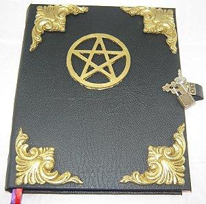 Livro das Sombras com Pentagrama cod.325