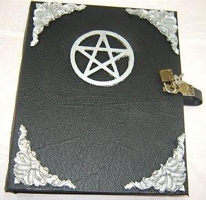 Livro das Sombras com pentagrama cod.327
