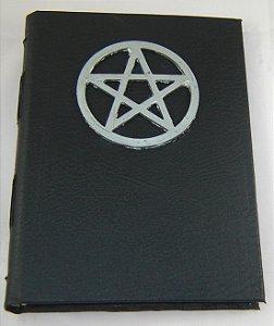 Diario de couro pentagrama  cod.347