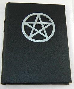 Diario de couro pentagrama  cod.348