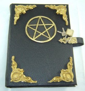 Livro das Sombras pentagrama cod.355