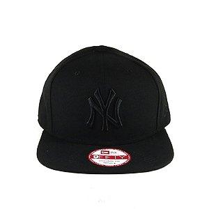 Boné Snapback New Era New York Yankees-Preto