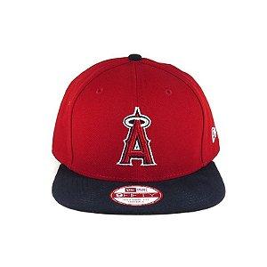Boné New Era Snapback  Los Angeles Angels -Vermelho e Azul