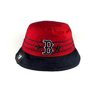 Bucket Hat New Era Boston Red Sox-Vermelho