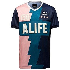 Camiseta Puma X Alife Soccer Tee Peacoat
