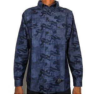 Camisa Hocks Constitucional-Camu Blue