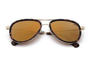 The Cruise Revo-Óculos de Sol Aviador Retrô Moderno Espelhado