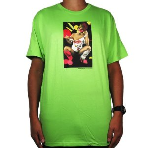 Camiseta Huf Im Living Color-Verde