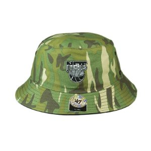 Bucket Hats 47 Brand Brooklyn Nets-Camuflado