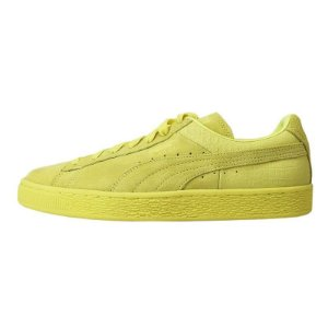 Tênis Puma Suede Classic Casual Emboss-Limelight