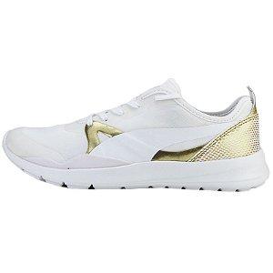 Tênis Puma Duplex Evo Gold-Branco