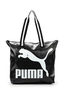 Bolsa Puma Archive Large Shopper P-Preta