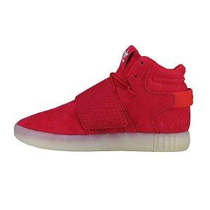 Tênis Adidas Tubular Invader Strap-Vermelho