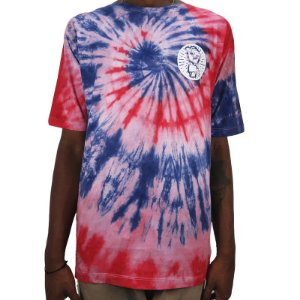 Camiseta Outlawz Tie Dye Do It Your Self-Blue/Red