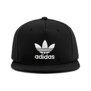 Boné Adidas Originals AC Tre Flat Snapback-Preto